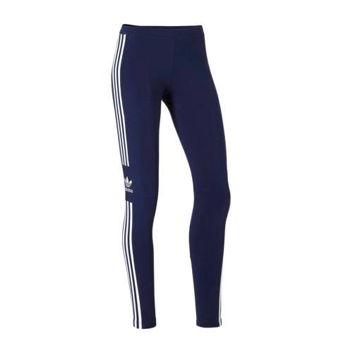 adidas originals 7-8 legging donkerblauw