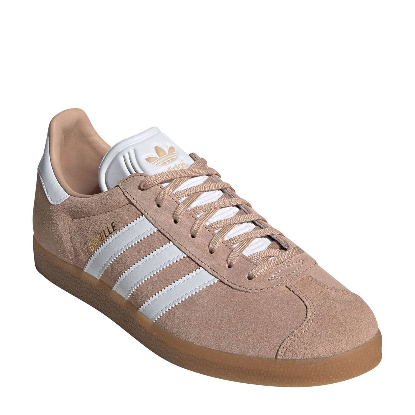 adidas Originals Gazelle sneakers lichtbruin | wehkamp