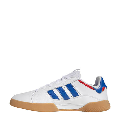 adidas originals VRX low sneakers wit-blauw