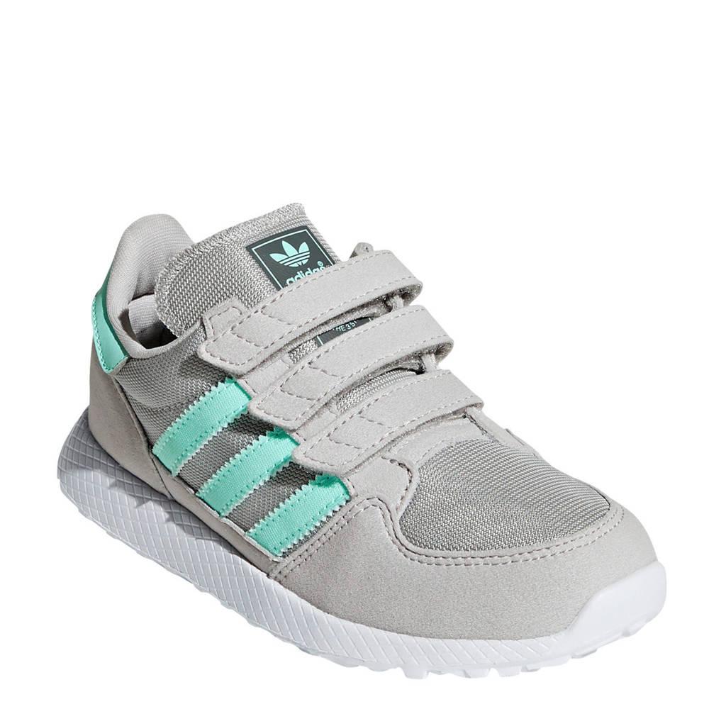 adidas originals  Forest Grove CF C suède sneakers grijs, Grijs/mintgroen