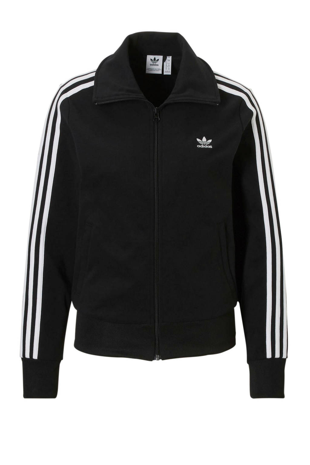 77a3730647f adidas originals vest zwart, Zwart/wit
