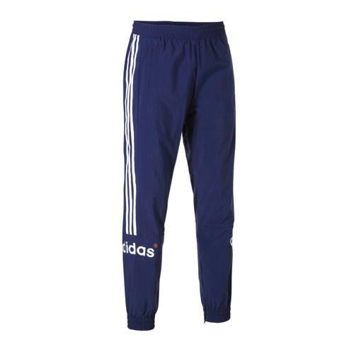 adidas originals trainingsbroek donkerblauw