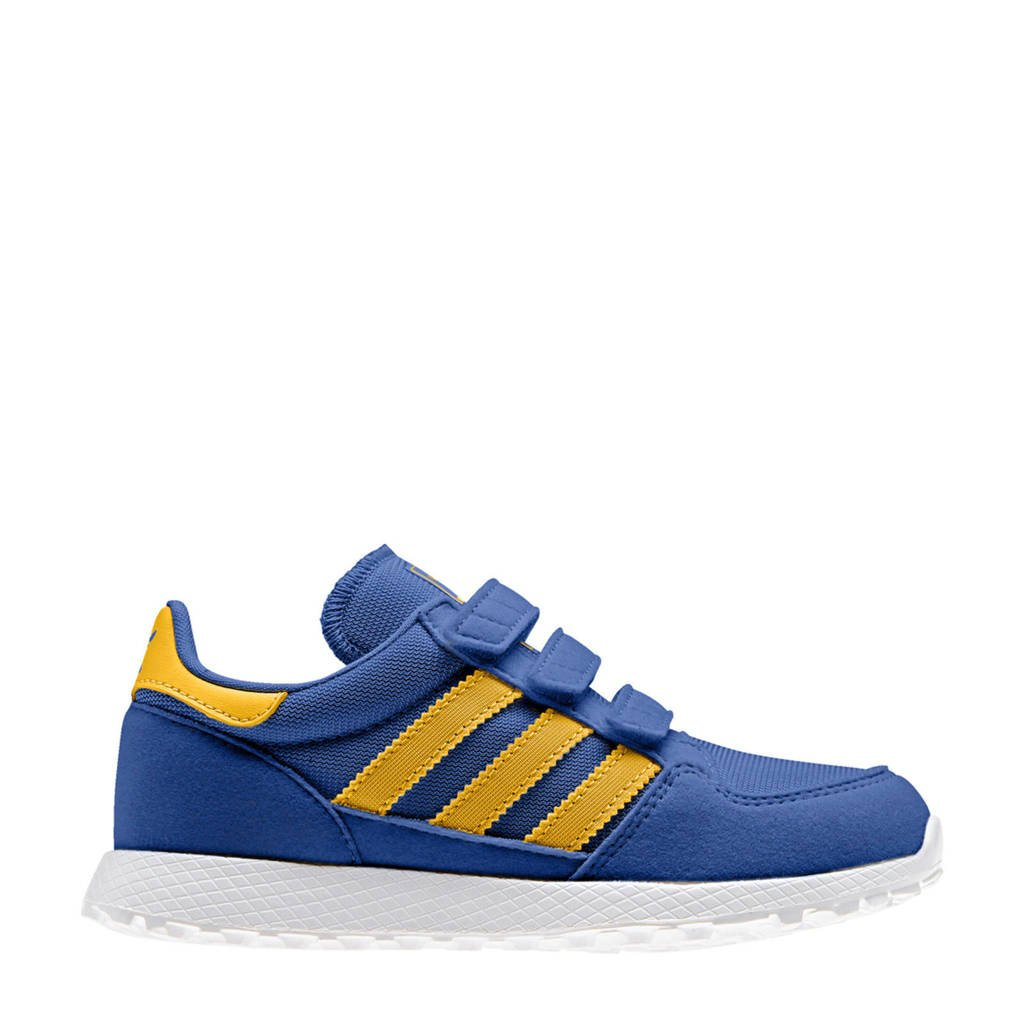 d277d8acf0a adidas originals Forest Grove CF C suède sneakers blauw, Blauw/geel