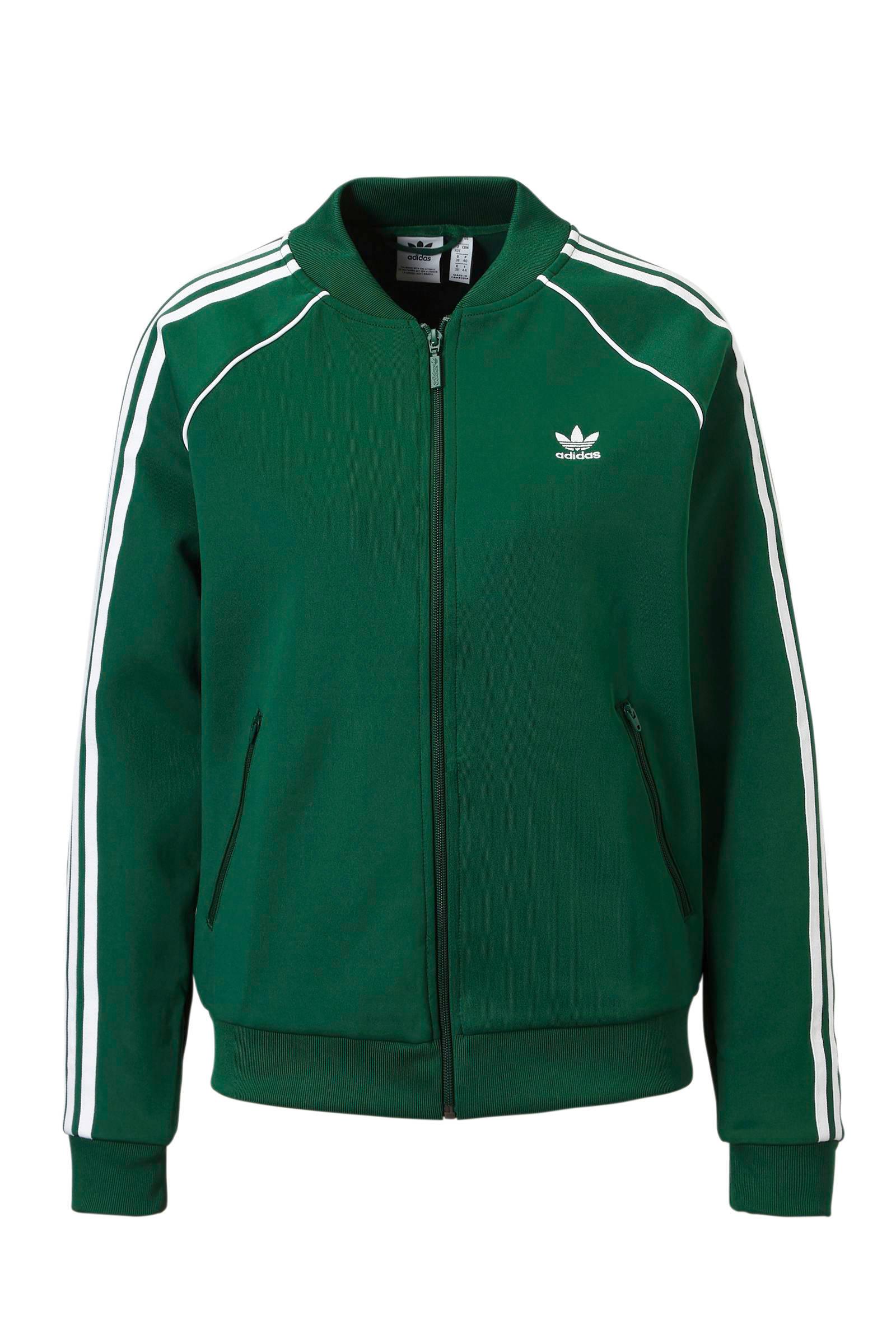 adidas Originals vest groen | wehkamp