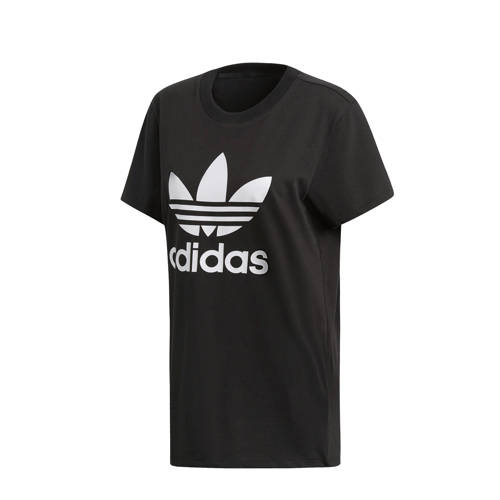 adidas originals oversized T-shirt zwart