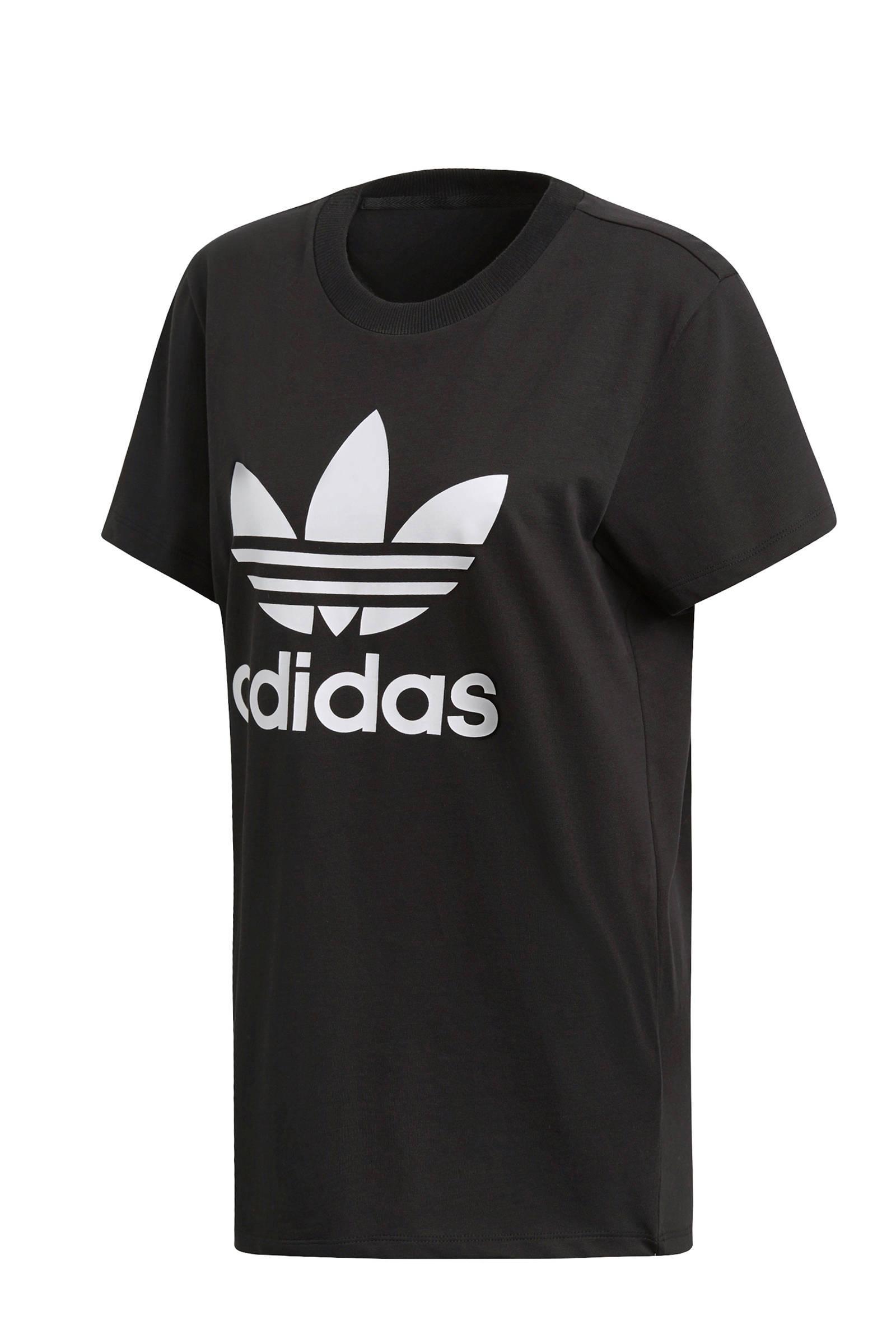 Adicolor oversized T-shirt zwart