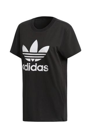 originals Adicolor oversized T-shirt zwart