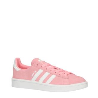 wholesale dealer b8da4 c1130 originals Campus sneakers roze WANNAHAVEDAYS