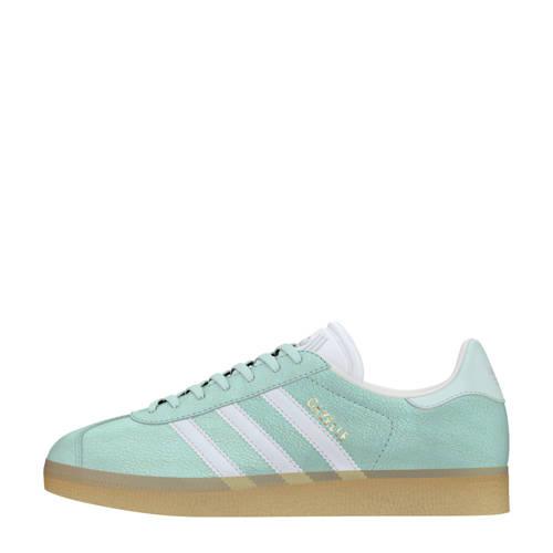 adidas originals Gazelle W sneakers mintgroen