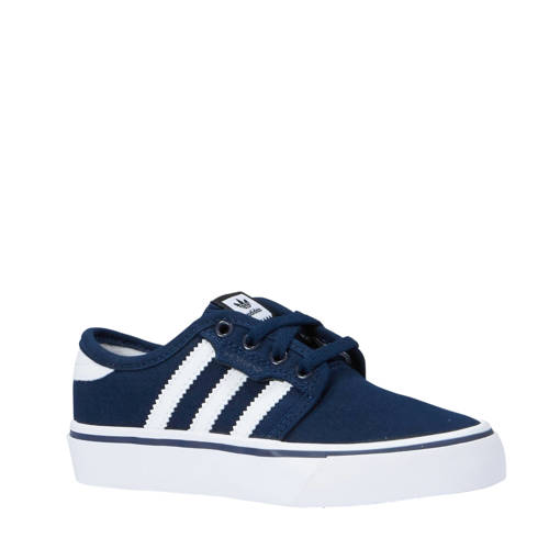 adidas originals Seeley sneakers donkerblauw-wit