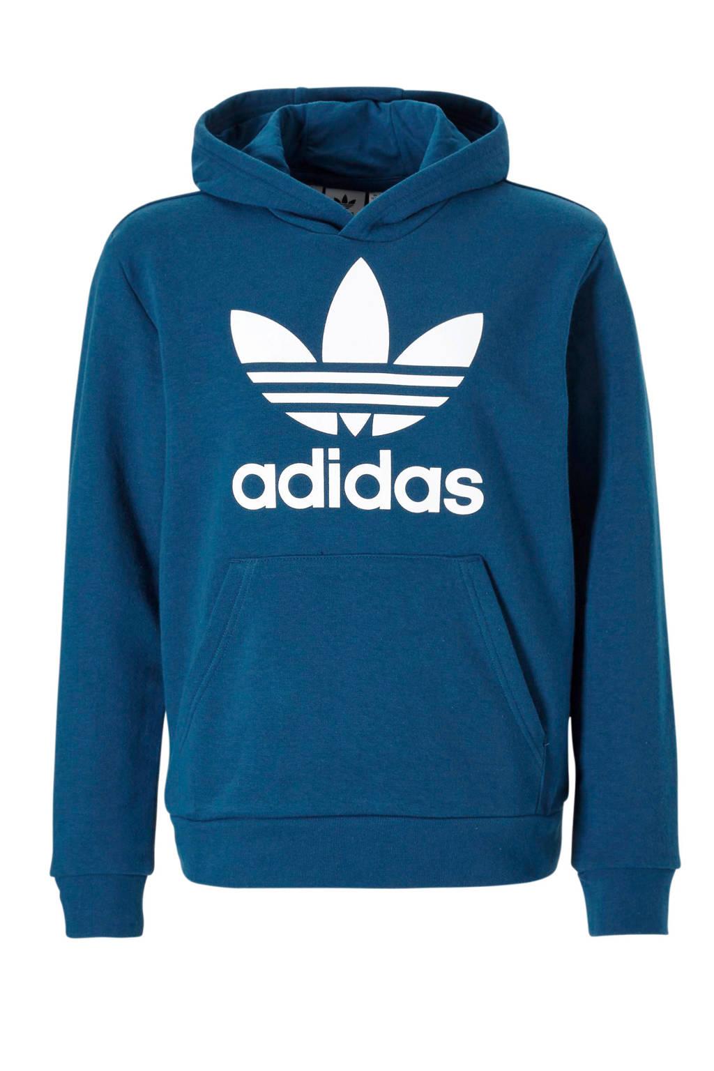 adidas originals   sweater blauw, Donkerblauw