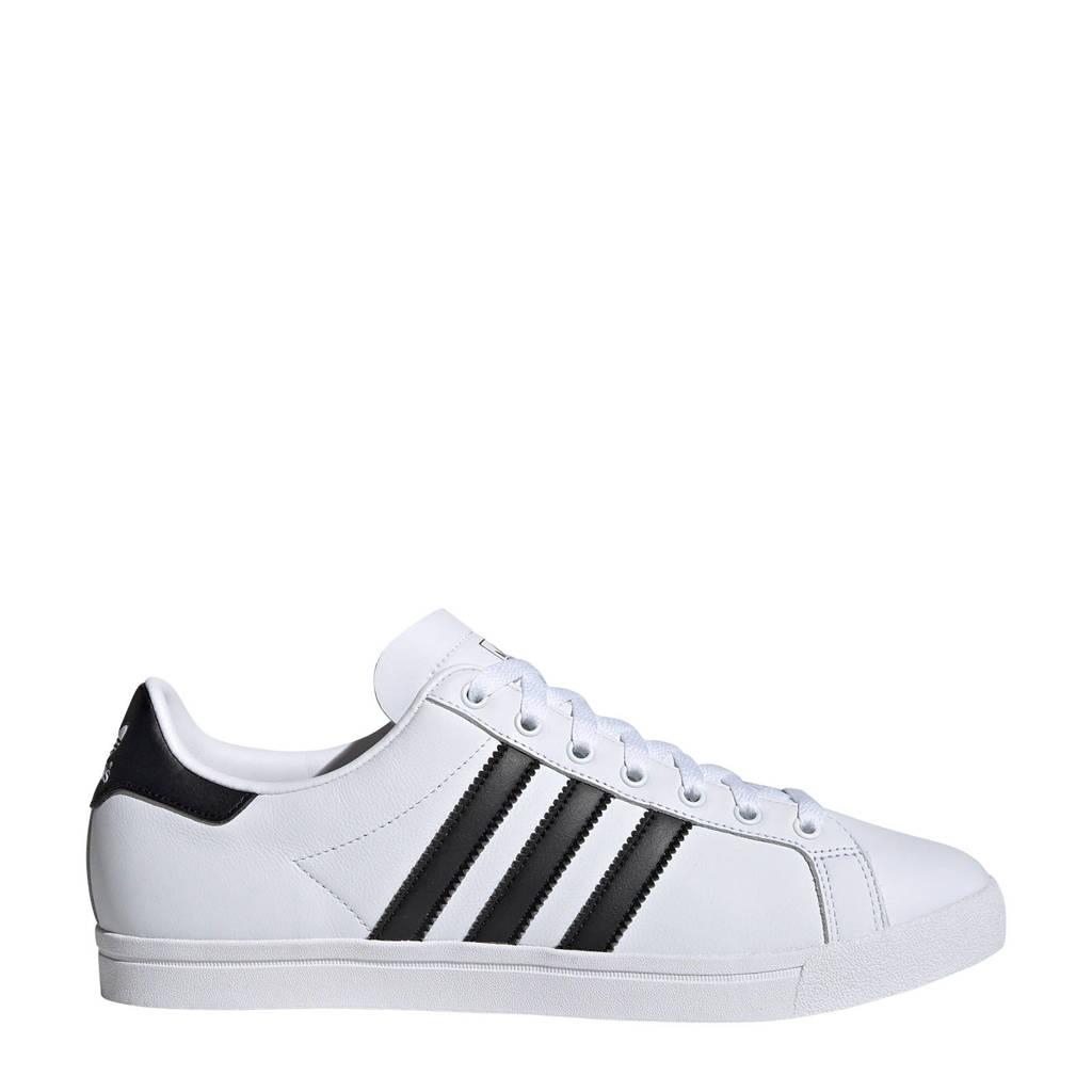 adidas originals  Coast Star sneakers zwart/wit, Wit/zwart