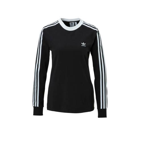adidas Originals shirt met lange mouwen 3 STRIPES LONGSLEEVE TEE