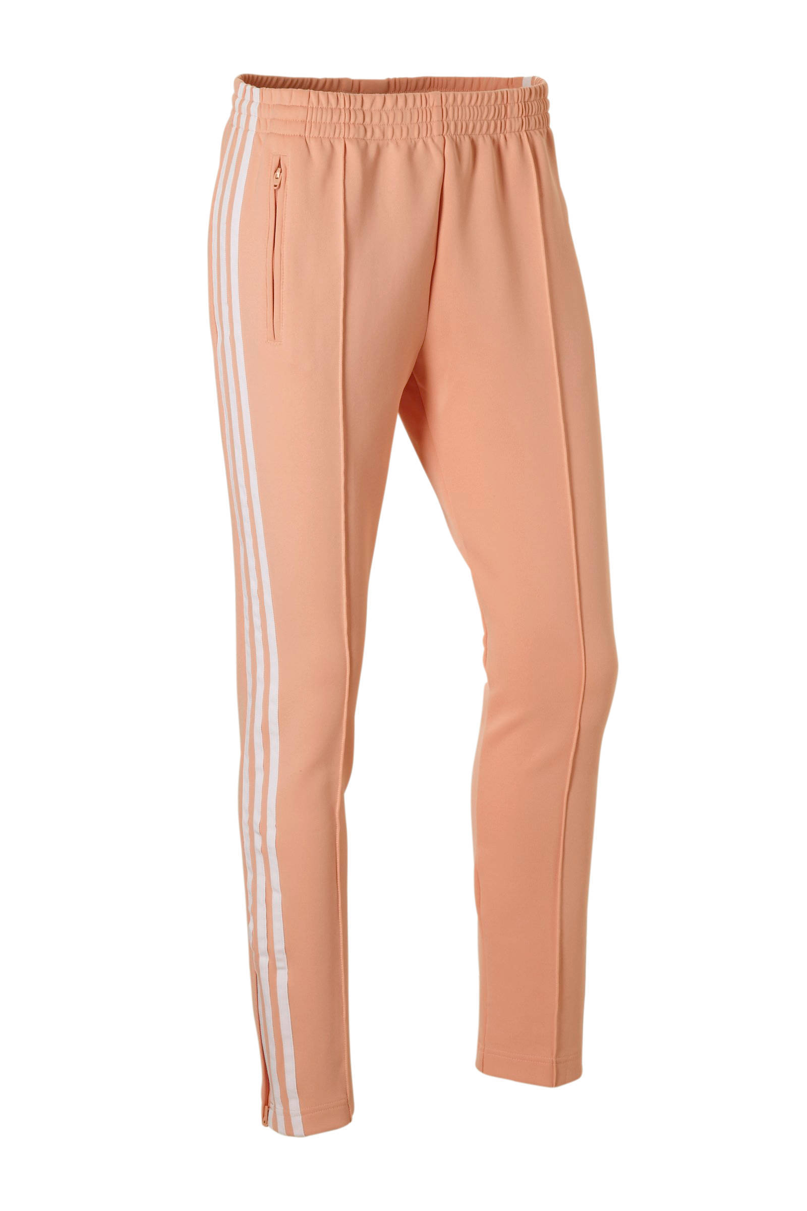 regular fit joggingbroek zalmroze