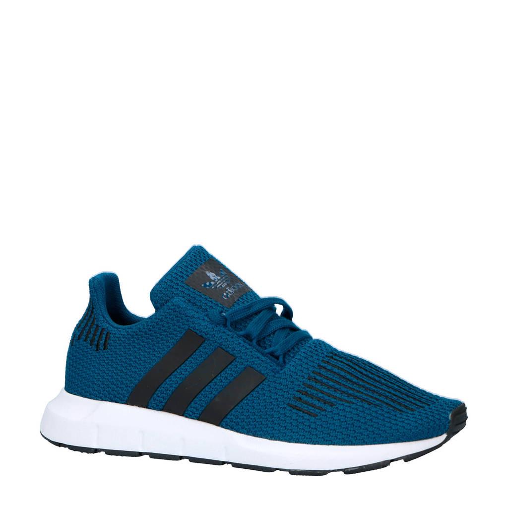 adidas originals  Swift Run J sneakers, Kobaltblauw/zwart