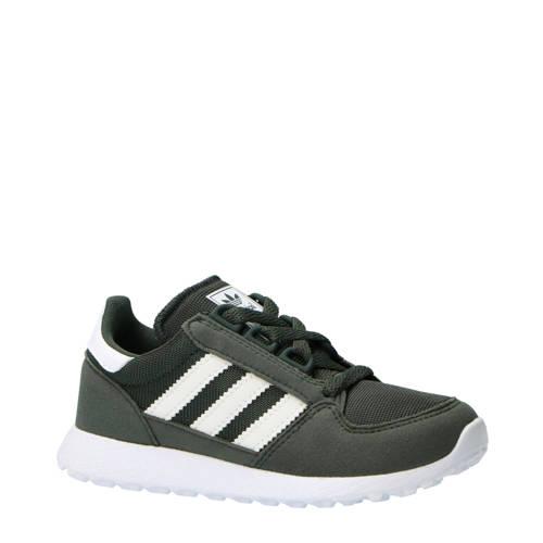 adidas originals Forest Grove CF I suède sneakers grijs-wit