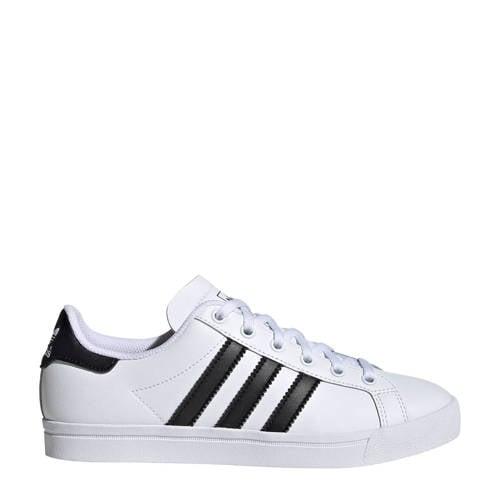 adidas originals Coast Star J sneakers wit-zwart