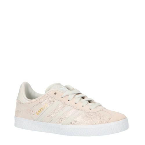 adidas originals Gazelle C suede sneakers beige-grijs