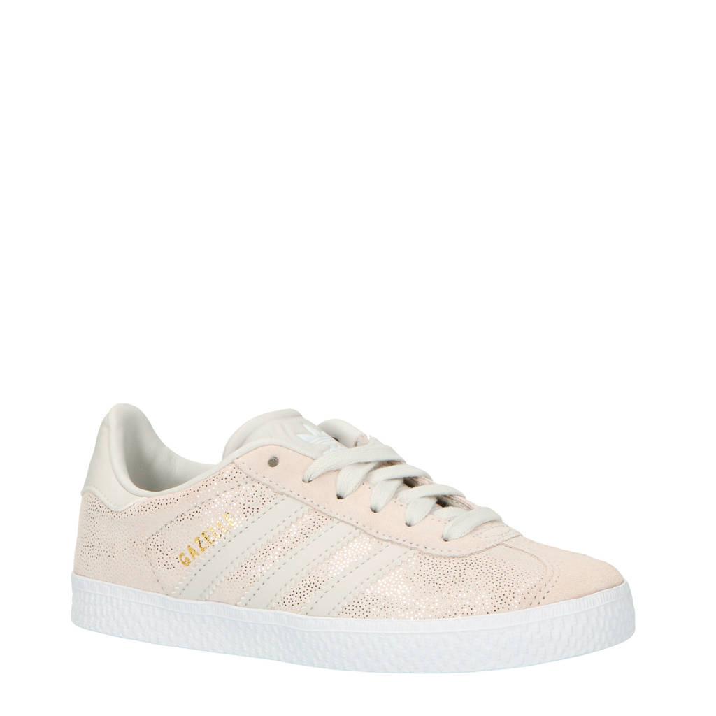 adidas originals  Gazelle C suede sneakers beige/grijs, Grijs/beige