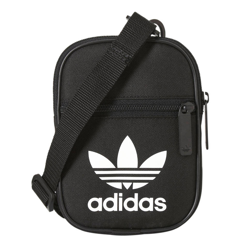 adidas originals   schoudertas zwart, Zwart