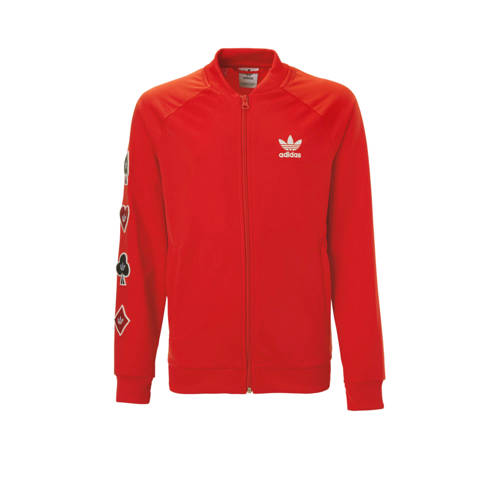 adidas originals vest rood