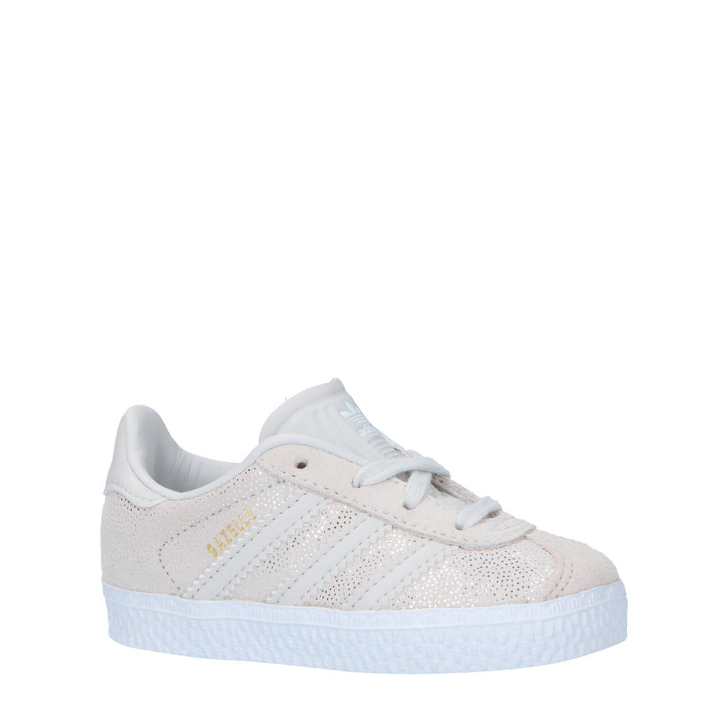 adidas originals  Gazelle sneakers bordeaux, Wit/beige