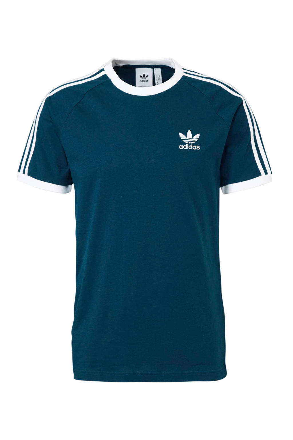 adidas originals   originals sport T-shirt blauw/wit, Blauw/wit