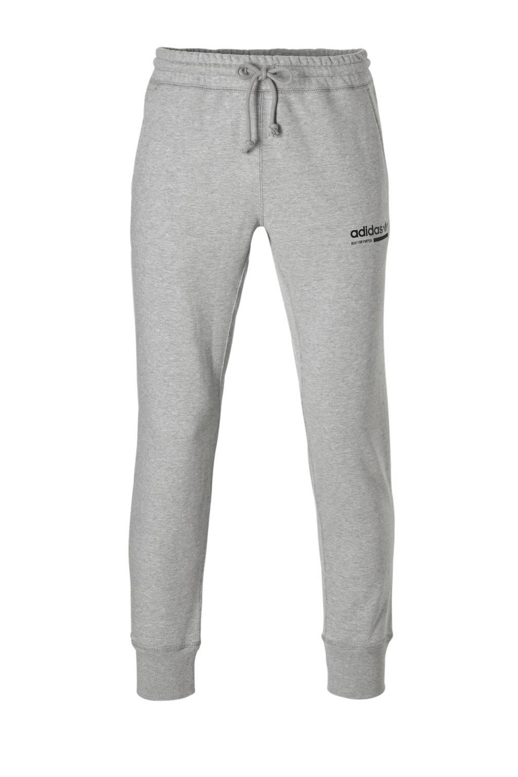 Joggingbroek Grijs Heren.Adidas Originals Joggingbroek Grijs Wehkamp