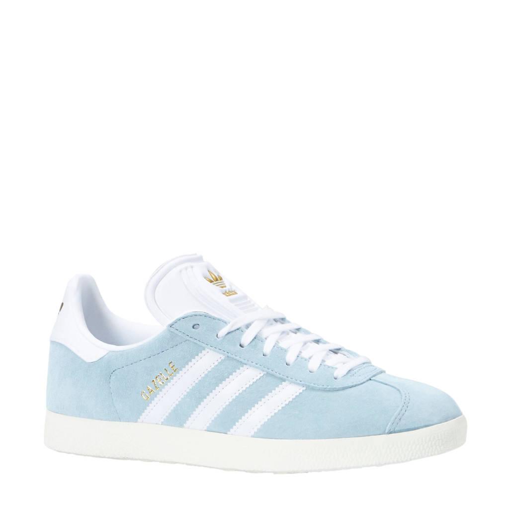 2a768e197f1 adidas originals Gazelle sneakers lichtblauw/wit, Lichtblauw/wit