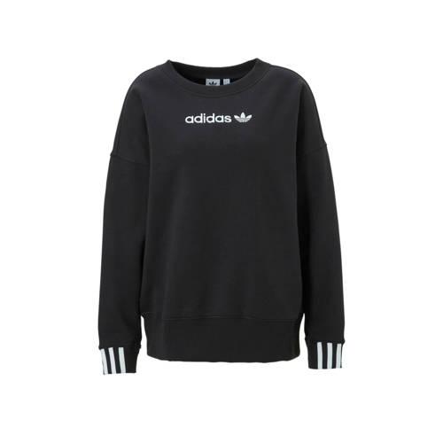 adidas originals sweater zwart
