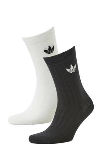 originals   sokken (set van 2) zwart/wit