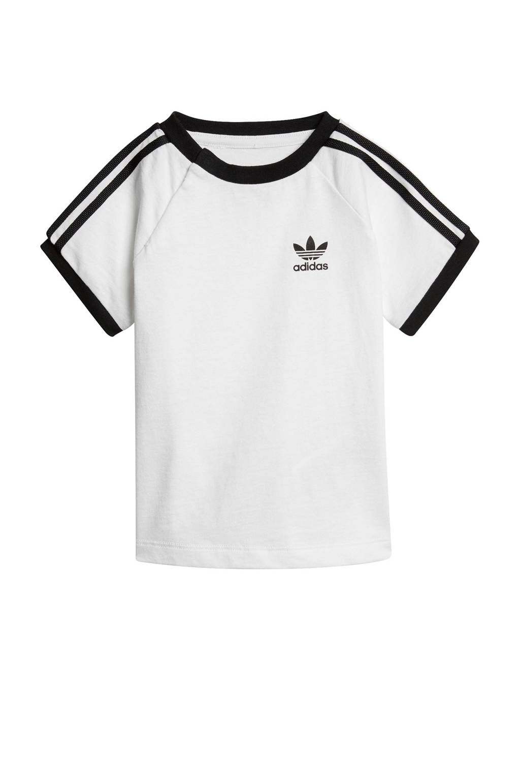 adidas originals Adicolor T-shirt wit, Wit/zwart