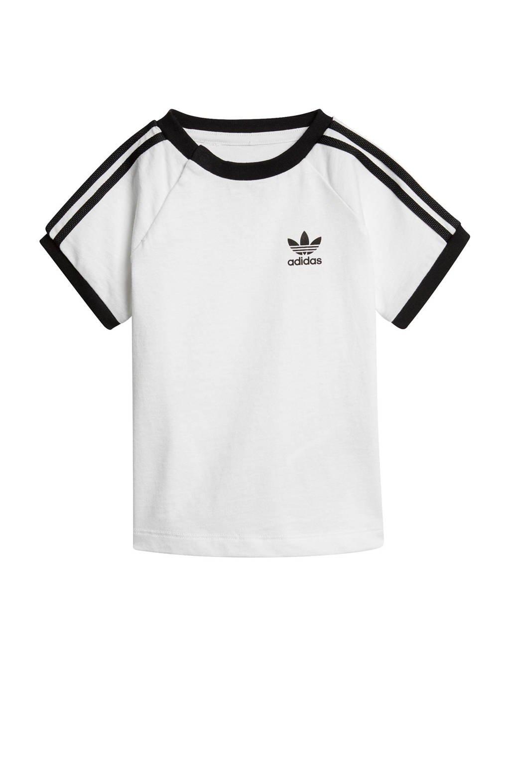adidas originals T-shirt wit, Wit/zwart