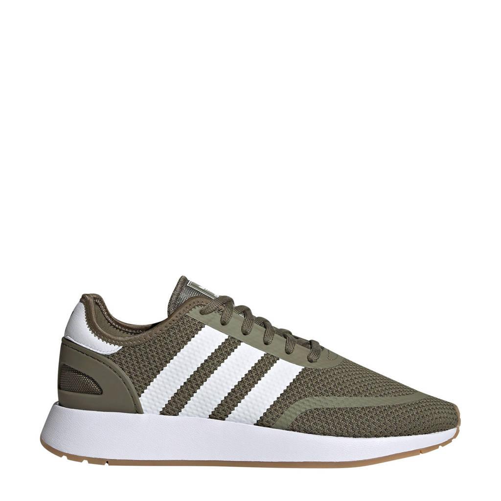 Kaki N Adidas wit Sneakers J Originals 5923 A5X1qzX