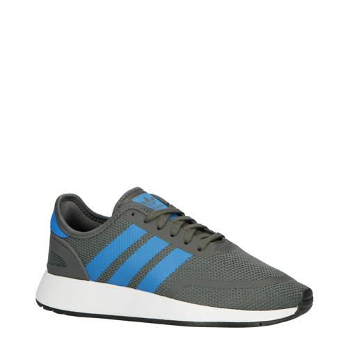 adidas originals N-5923 J suède sneakers grijs-blauw