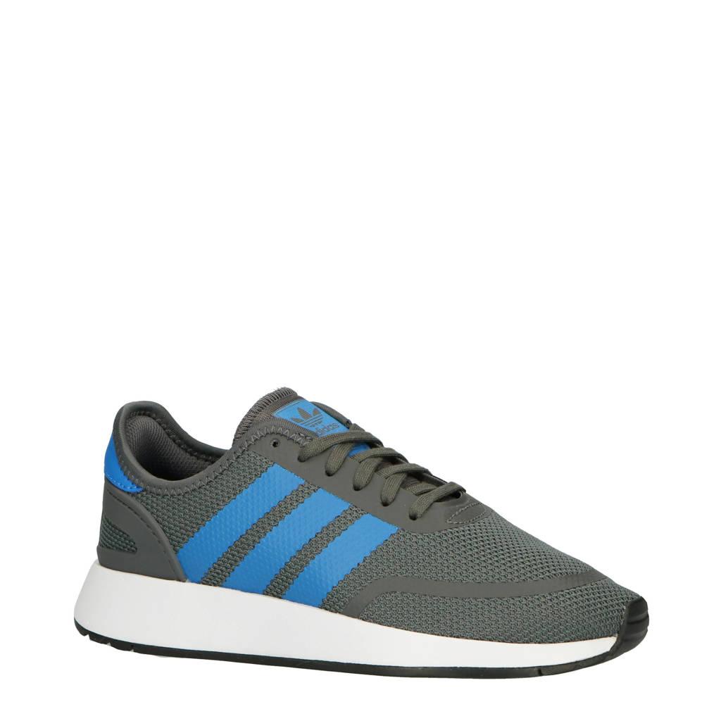 adidas originals  N-5923 J suède sneakers grijs/blauw, Grijs/blauw