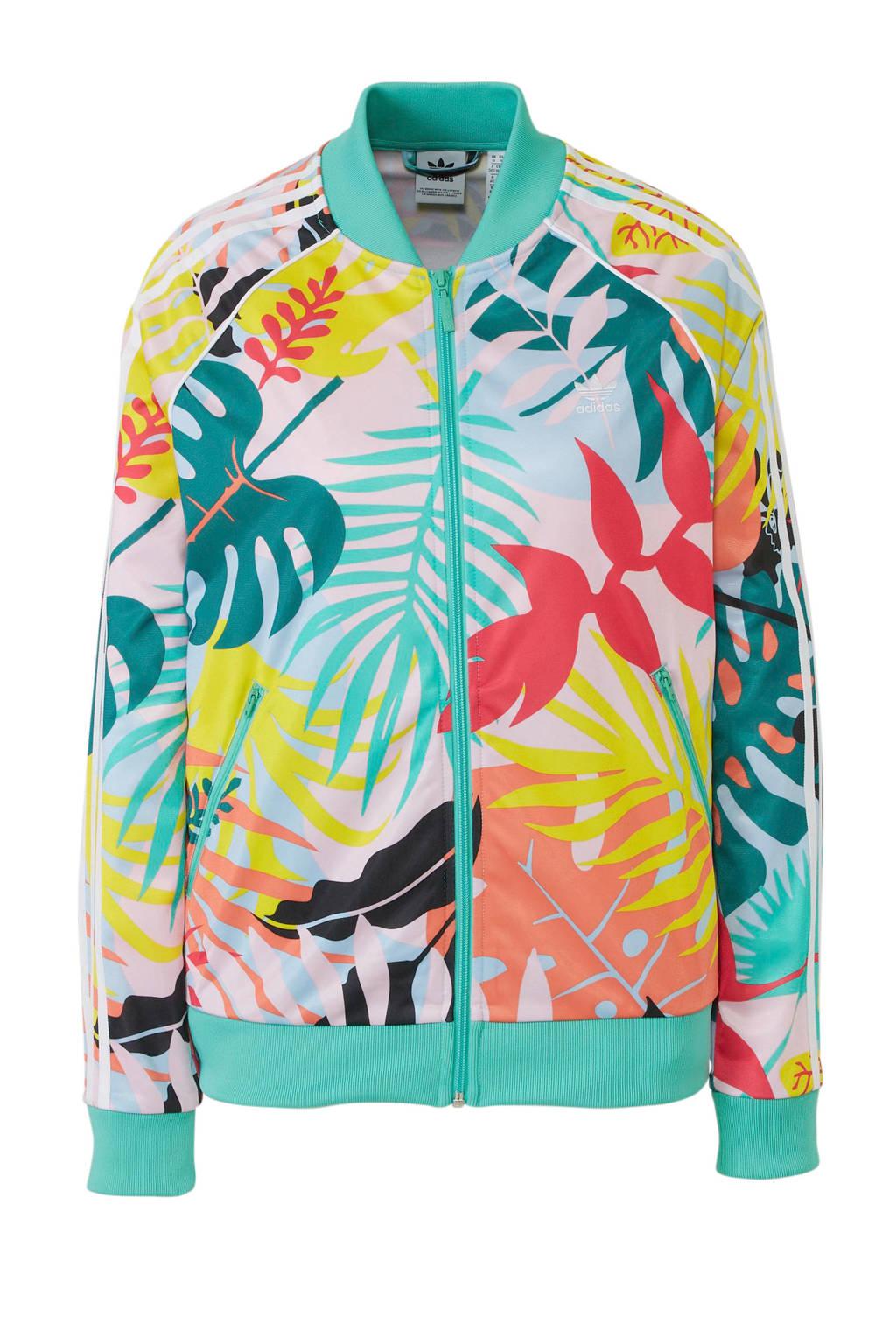 adidas originals vest, Groen/multi