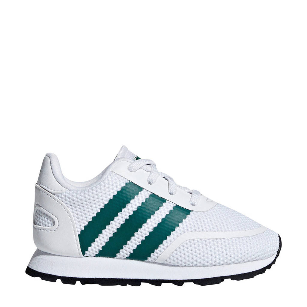 adidas originals  sneakers wit, Wit/groen