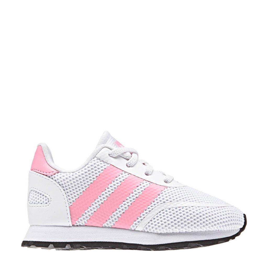 e5bb068f787 adidas originals N-5923 EL I sneakers wit/roze, Wit/roze