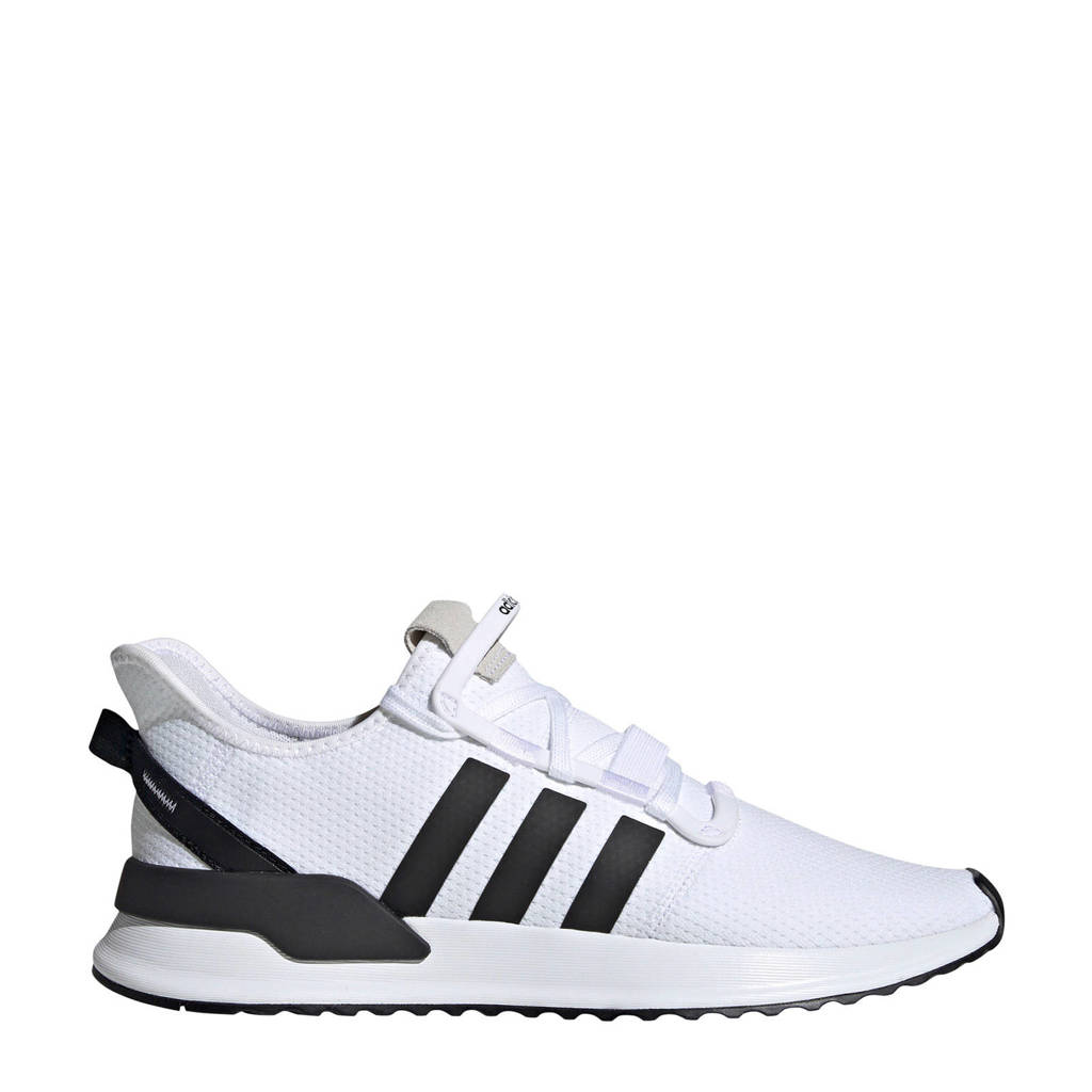 adidas originals  U_Path Run sneakers wit, Wit/zwart