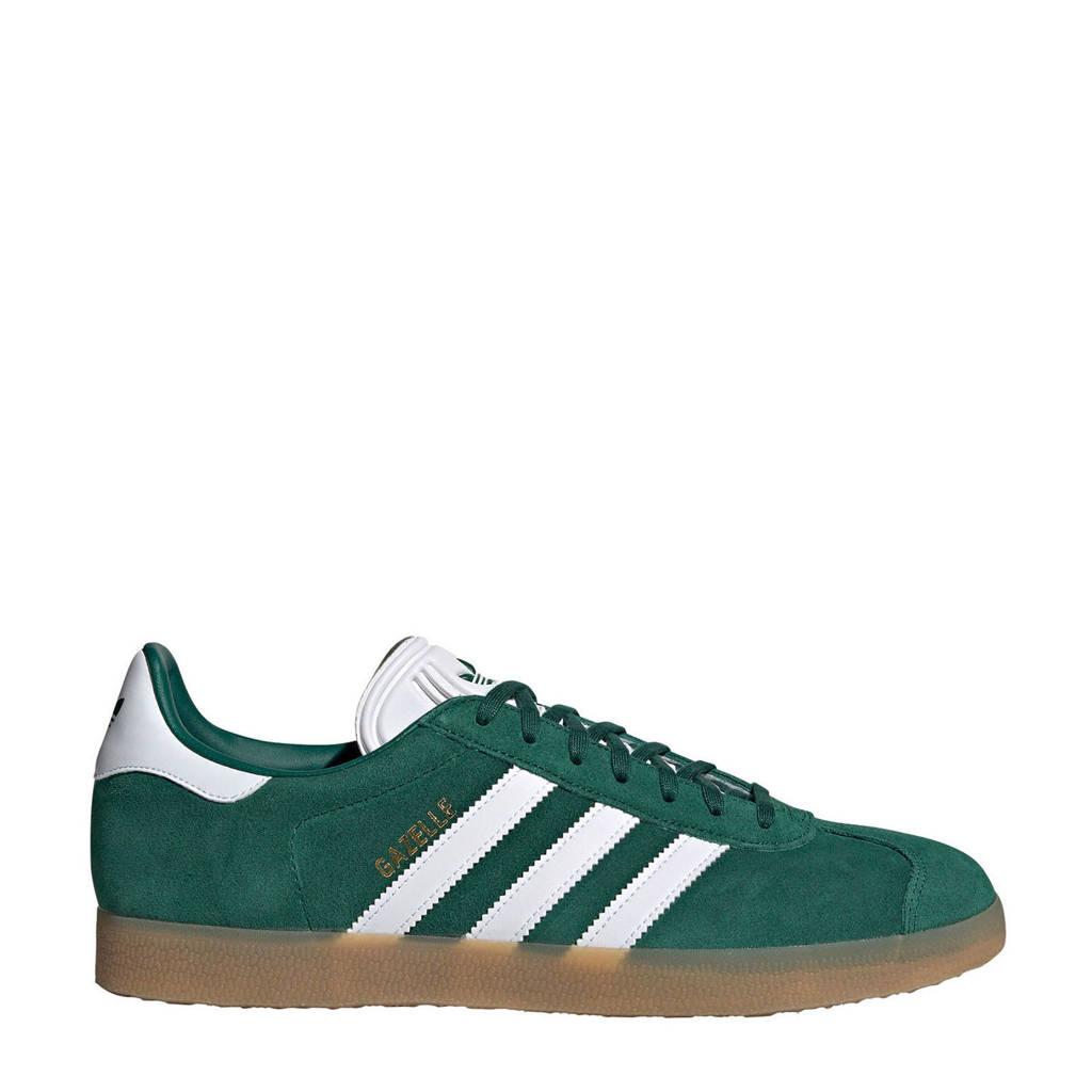 adidas originals Gazelle  sneakers, Groen/wit