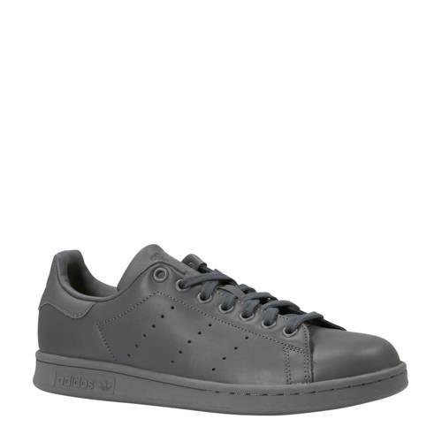 adidas originals Stan Smith leren sneakers grijs
