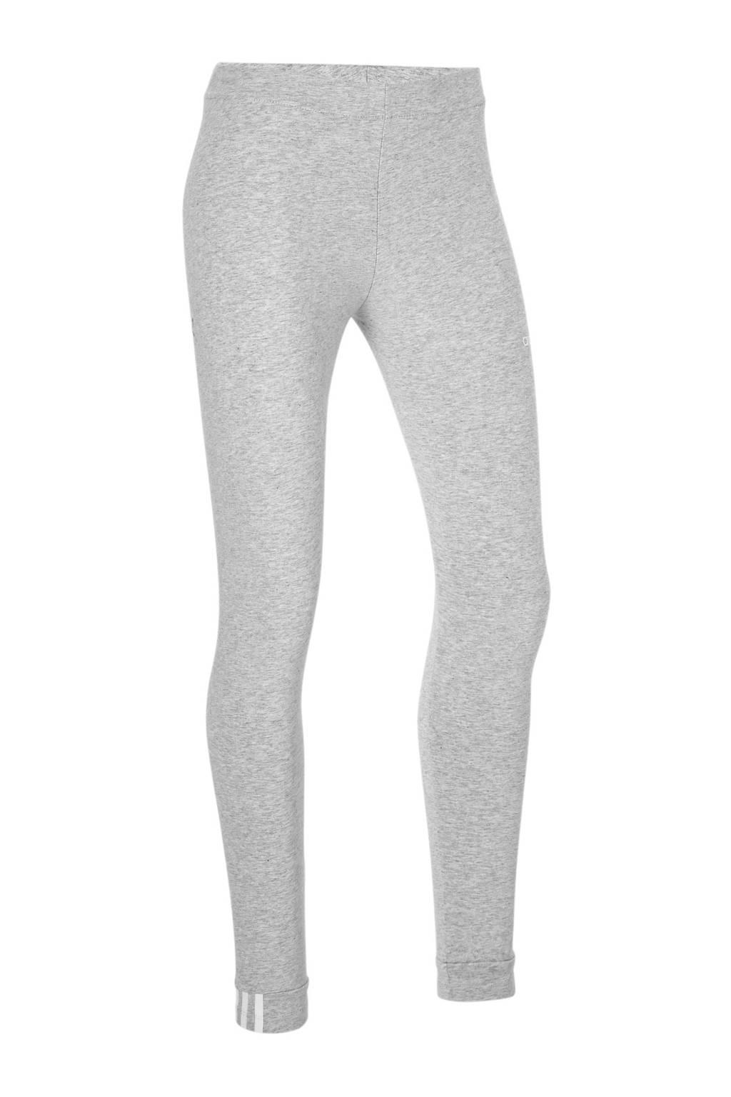 adidas originals legging grijs, Grijs/wit