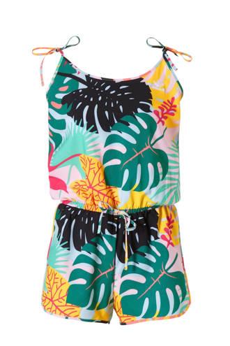 originals jumpsuit met all over multi print groen