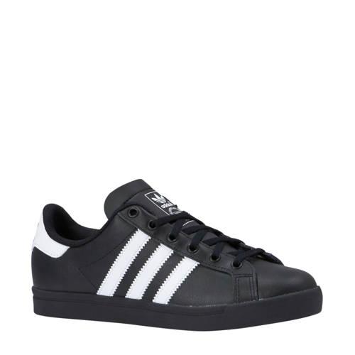 adidas originals Coast Star J sneakers zwart-wit