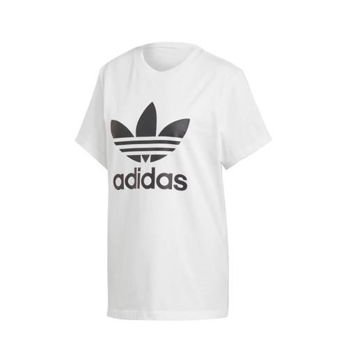 adidas originals oversized T-shirt zwart