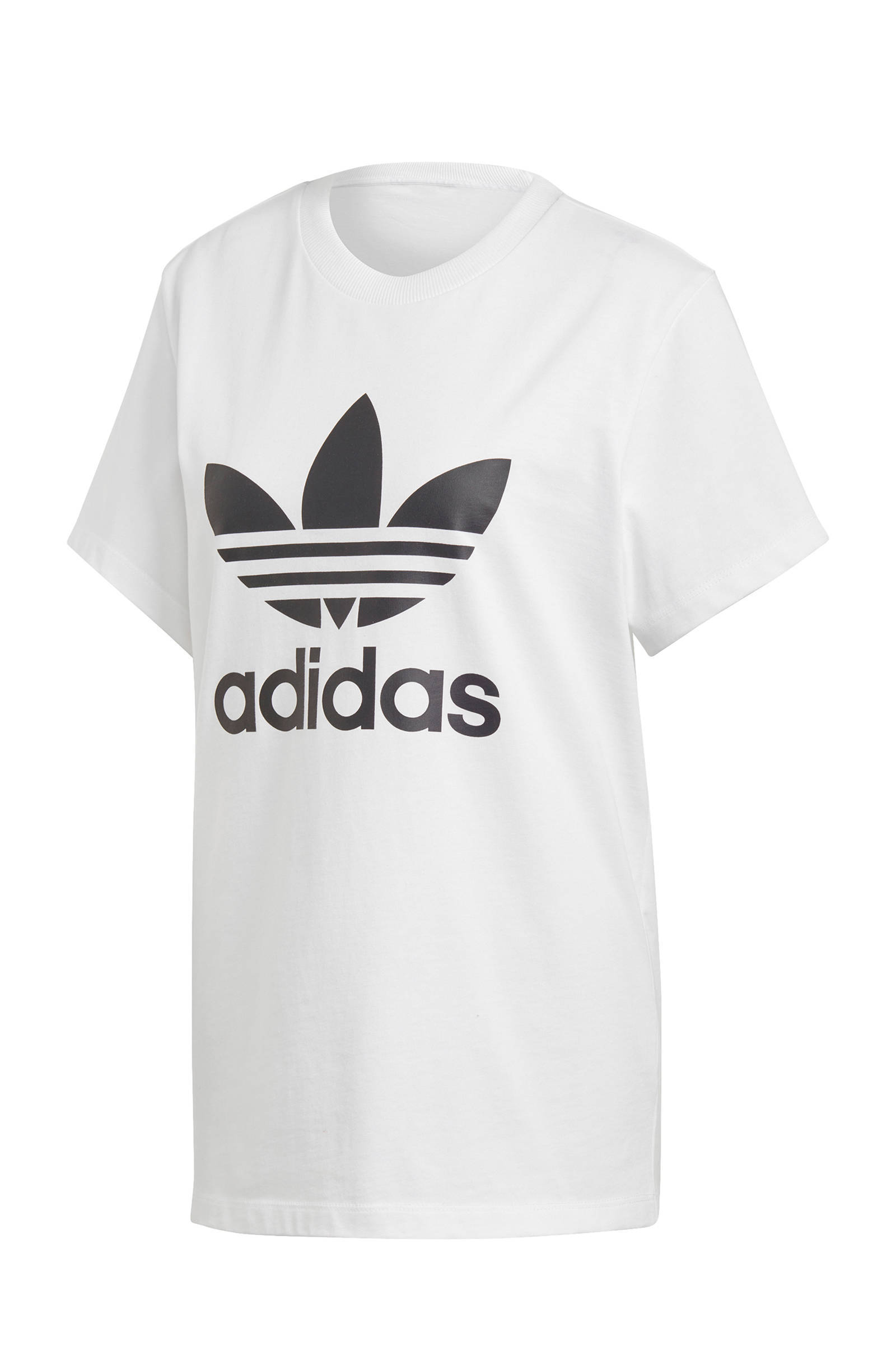 adidas Originals Adicolor oversized T-shirt wit | wehkamp