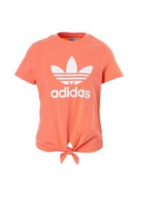 adidas / adidas originals T-shirt met printopdruk oranje