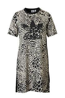 adidas originals jurk zwart/wit