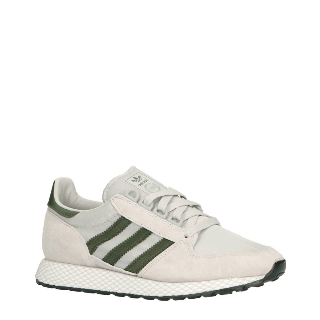 adidas originals  Forest Grove suède sneakers grijs, Grijs/zwart